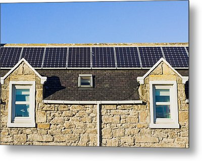 Solar Panels Metal Print by Tom Gowanlock