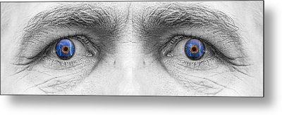 Stormy Angry Eyes Metal Print by James BO  Insogna