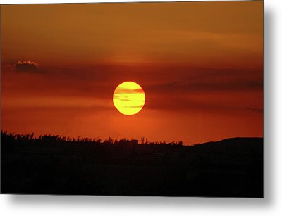 Metal Print featuring the photograph 4- Sunset by Joseph Keane
