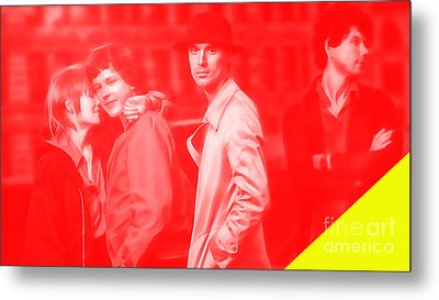 Talking Heads Collection Metal Print