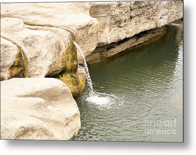 Metal Print featuring the photograph Texas - Mckinney Falls State Park  by Ray Shrewsberry