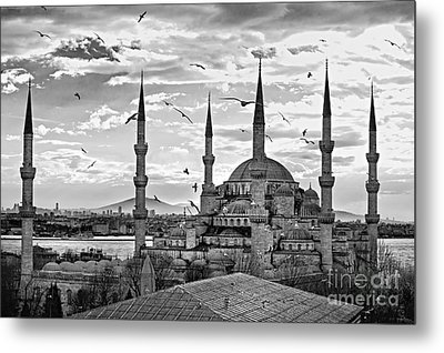 The Blue Mosque - Istanbul Metal Print by Luciano Mortula
