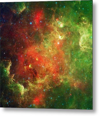 The North America Nebula Metal Print by American School