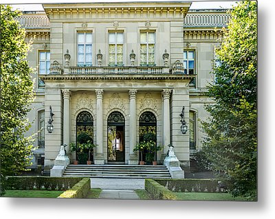 The Rosecliff Metal Print by Sabine Edrissi