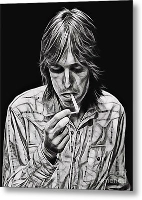 Tom Petty Collection Metal Print