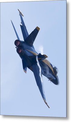 Us Navy Blue Angels Poster Metal Print by Dustin K Ryan