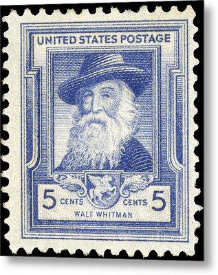 Walt Whitman (1819-1892) Metal Print by Granger