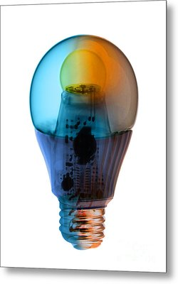 X-ray Of An Energy Efficient Light Metal Print by Ted Kinsman