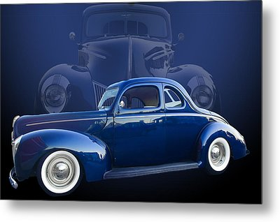 40 Ford Coupe Metal Print by Jim  Hatch