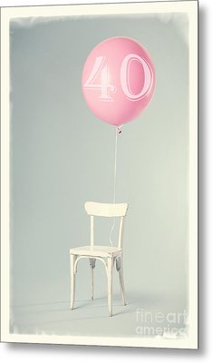 40th Birthday Metal Print by Edward Fielding