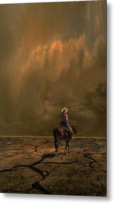 Metal Print featuring the photograph 4378 by Peter Holme III