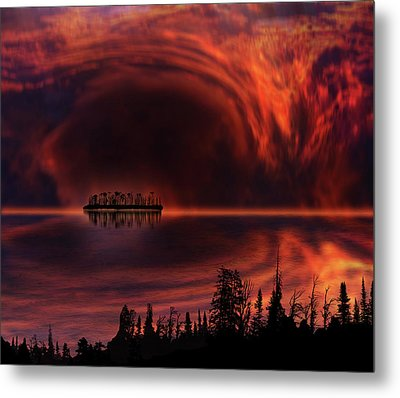 Metal Print featuring the photograph 4385 by Peter Holme III