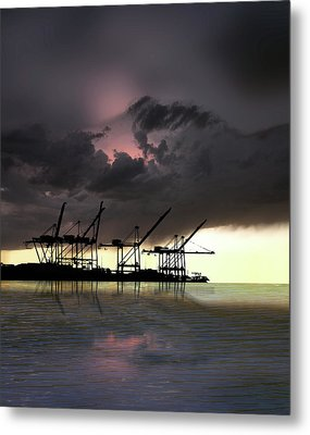 Metal Print featuring the photograph 4396 by Peter Holme III