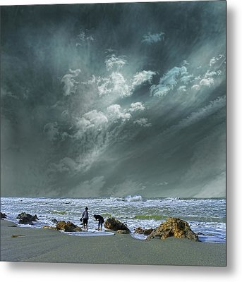 Metal Print featuring the photograph 4399 by Peter Holme III