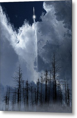Metal Print featuring the photograph 4404 by Peter Holme III