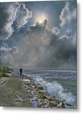 Metal Print featuring the photograph 4405 by Peter Holme III