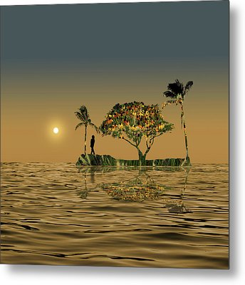 Metal Print featuring the photograph 4423 by Peter Holme III