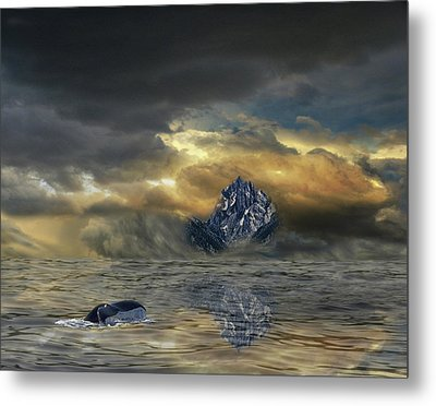 Metal Print featuring the photograph 4471 by Peter Holme III