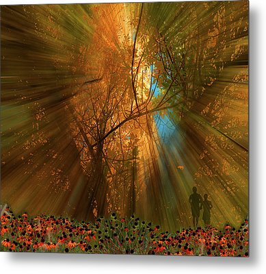 Metal Print featuring the photograph 4478 by Peter Holme III