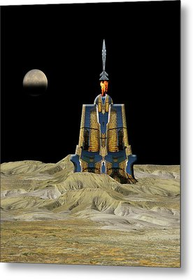 Metal Print featuring the photograph 4481 by Peter Holme III