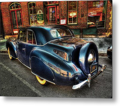 46 Continental Metal Print by William Fields