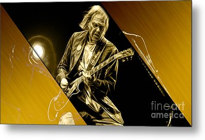 Neil Young Collection Metal Print