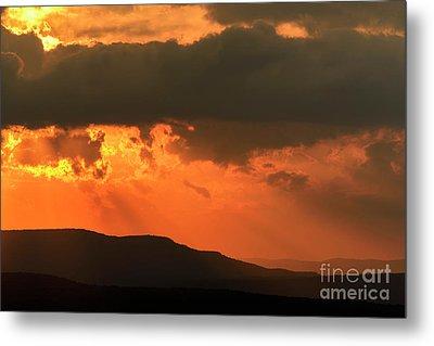 Allegheny Mountain Sunrise Metal Print by Thomas R Fletcher