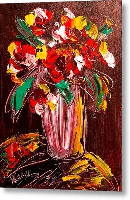 Flowers Metal Print by Mark Kazav