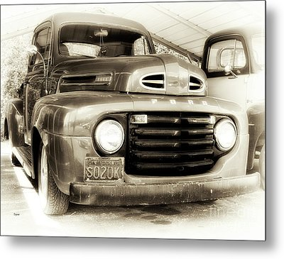 48 Ford  Metal Print by Steven Digman