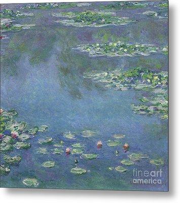 Water Lilies Metal Print by Claude Monet