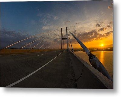 486 Feet Sunrise Metal Print by Chris Bordeleau