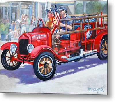 4th Of July Metal Print by Michael McDougall