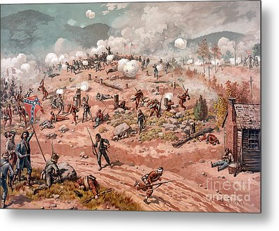 American Civil War, Battle Metal Print