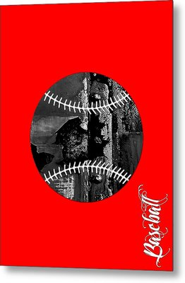 Baseball Collection Metal Print by Marvin Blaine