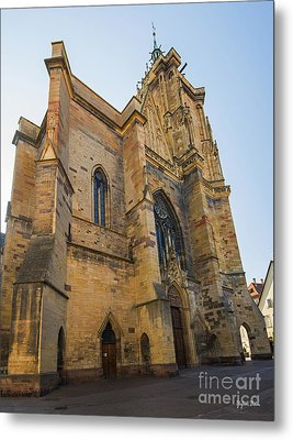 Cathedral Of Saint Martin In Colmar Metal Print