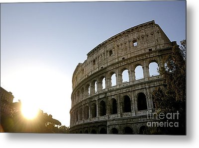 Coliseum. Rome Metal Print by Bernard Jaubert