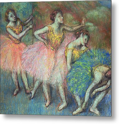 Four Dancers Metal Print