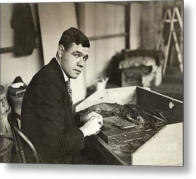George H. Ruth (1895-1948) Metal Print by Granger