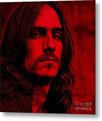 James Taylor Collection Metal Print by Marvin Blaine