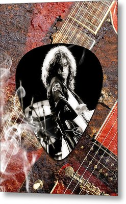 Jimmy Page Art Metal Print by Marvin Blaine