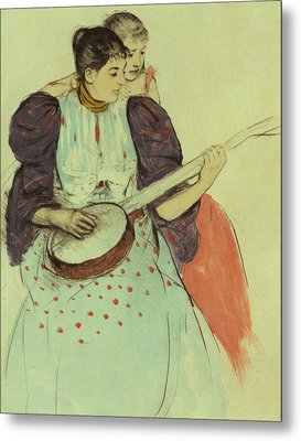 Mother And Child Metal Print by Mary Stevenson Cassatt