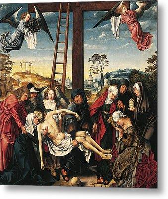 Pieta Metal Print by Rogier van der Weyden