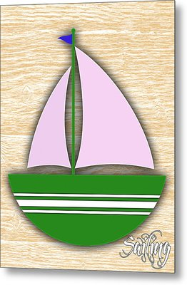 Sailing Collection Metal Print by Marvin Blaine