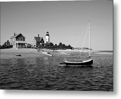 Metal Print featuring the photograph Sandy Neck Lighthouse by Charles Harden
