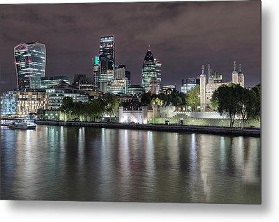 Skyline Of London Metal Print by Joana Kruse