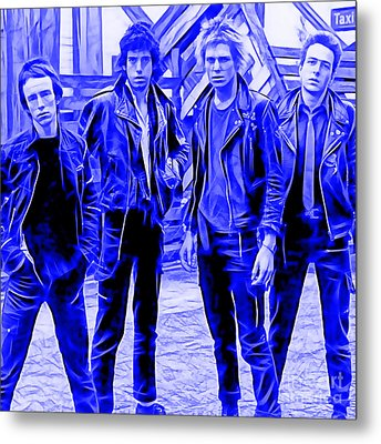 The Clash Collection Metal Print
