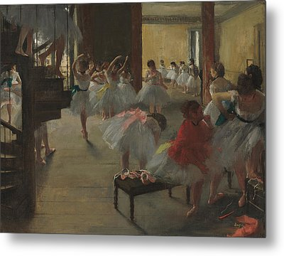 The Dance Class Metal Print