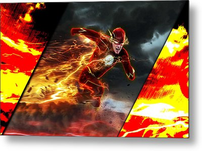 The Flash Collection Metal Print by Marvin Blaine