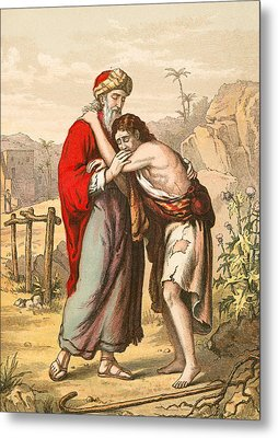The Return Of The Prodigal Son Metal Print by English School