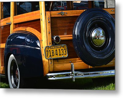 Woodie Metal Print by Dean Ferreira